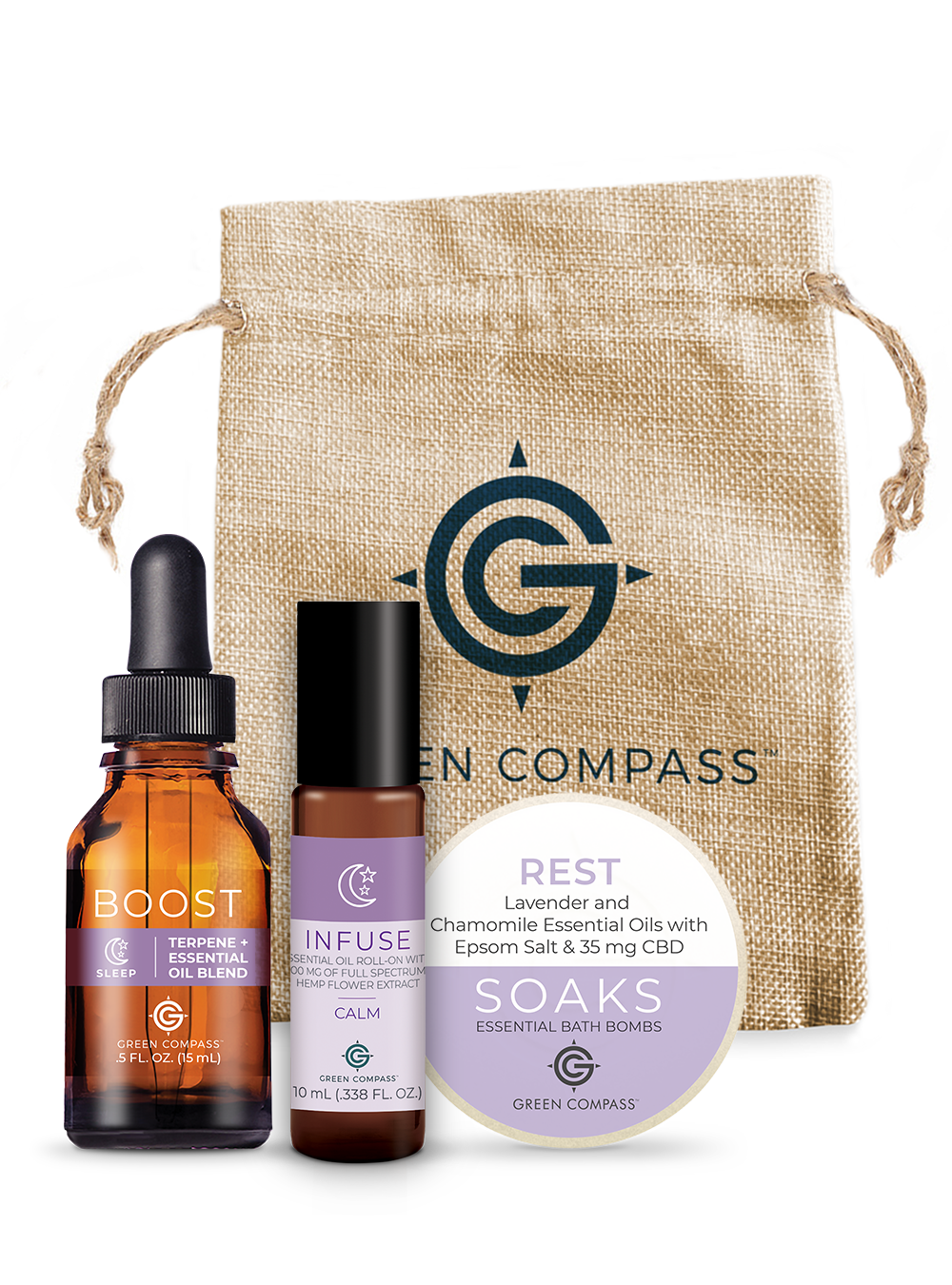 Green Compass Sleep Bundle